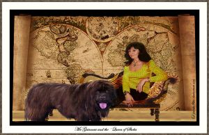 Mr Guinness and the Queen of Sheba by printsILike