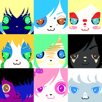 Princess Lucy cast Icons by Kanedas-Adopts