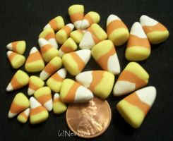 Candy corn galore by ElectricDinoSaur