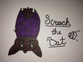 My Epic Critters~Screech the Bat by ScenePika