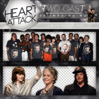 +Photopack Png The Walking Dead Cast by AHTZIRIDIRECTIONER