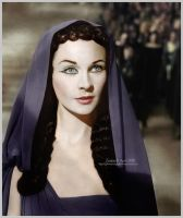 Vivien Leigh as Cleopatra by glimmeringlight
