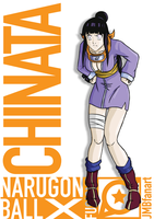 Chinata (Chichi and Hinata fusion) by JMBfanart