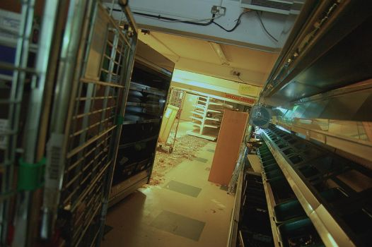 Zombie Apocalypse 'Run-down' Shop 2 by PanicProductionsFilm