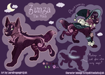 Zunza ref - Commission by LauraDragongirl
