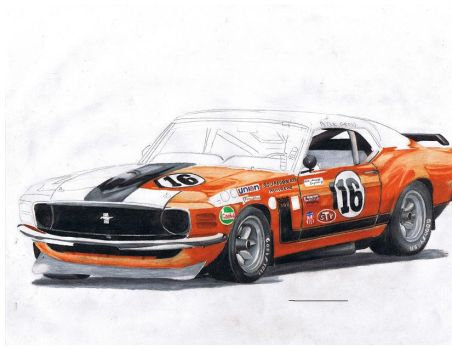 mustang trans am by GTO242