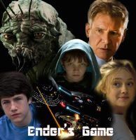 Ender's Game Movie Poster - original by avarice4adventure