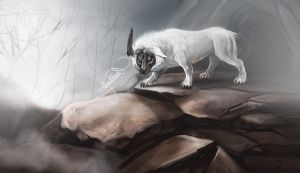 Realistic Absol by Leashe