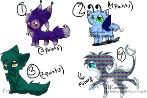 Point Adoptables by The-Insane-Puppeteer