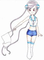 Flag Girl Nanako by Snivy94