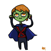 Cute Miss Martian by Kaeshay