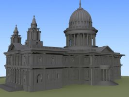 St. Paul's Cathedral by EternityVampyr