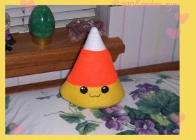 Candy Corn Plushie - 2 by Ember-Eyes