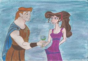 Herc and Meg by MissHannahCellaneous