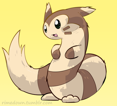 Furret - Day 1380 by Seracfrost