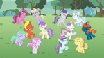 Dancing Fillies WP (WallPaper) by MLP-Element