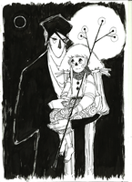 The little witch and the stranger 2 by crazygrin