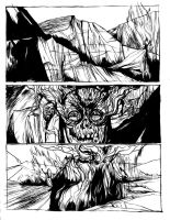 Unholy_pg1_rough inks by jonesray