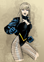 2015-11-12-Black Canary by Madmonkeylove