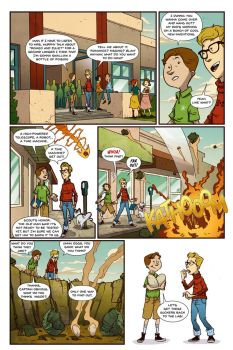 BIG PROBLEMS, BIG SOLUTIONS page 1 (lettered) by dreyes811