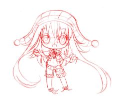 chibibhibi commish... sketch by sureya