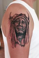 Indian chief by Nis-Staack