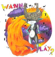 WANNA PLAY? by Cheeselover4