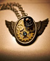Winged Pendant by CauterizeSetsFire