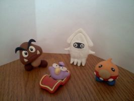 Goomba and Friends by L3xus21