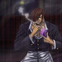 Iori Yagami by Gold-copper