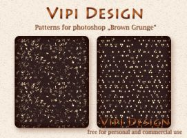Patterns - Brown Grunge by elixa-geg