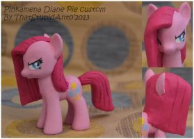 Pinkamena Diane Pie custom by Antych