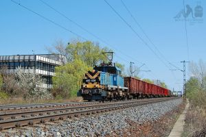 460 028 with freight between Gyor and Abda by morpheus880223