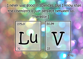 The Chemistry of Love by SweetLittleVampire