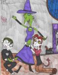 Tickle the Witch by Camila-Andromeda