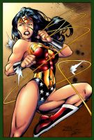 Wonder Woman by Ed Benes by maehao