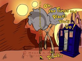 Oh the Times and Places you will Go! Cover by Owl-Publications