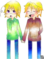 APH: ME AND MY BRO by KAGEnoSORA
