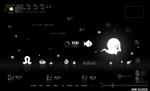 Rainmeter skin By Vincent by sky2ree