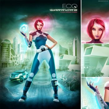 Eco Warriors by nuvem