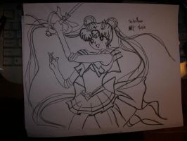 Super Sailor Moon by hotcooquita
