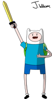 Adventure time Finn the Human by wilcox6