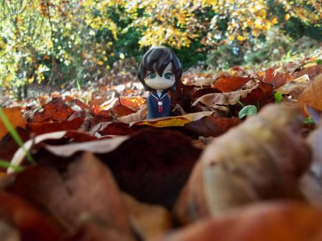 Amongst the leaves by lord-pudding
