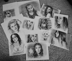 collage of popular drawings by MrEyeCandy66