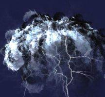 Thunderstorm Cloud by eReSaW