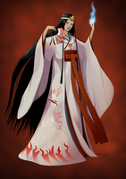 Revenge of the Pantheons : Inari by doubleleaf