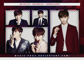 PACK PNG 69 | LEE JONG SUK by MAGIC-PNGS