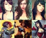 League of Legends make up by meke-meke
