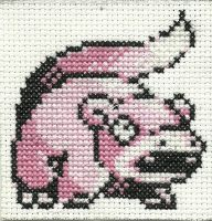 Slowpoke Cross Stitch by Pansymanic