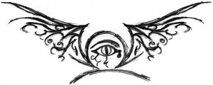 tattoo concept - winged libra by edfarker